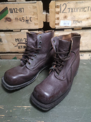 Swedish Army m59 Leather Boots