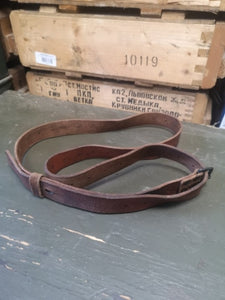 Swedish Army Mauser M98 / M38 Sling to make a belt