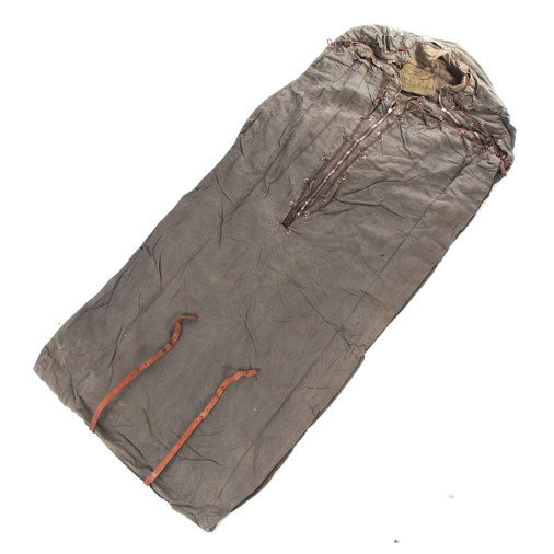 Swedish Army Vintage Rescue Sleeping Bag / Bedroll
