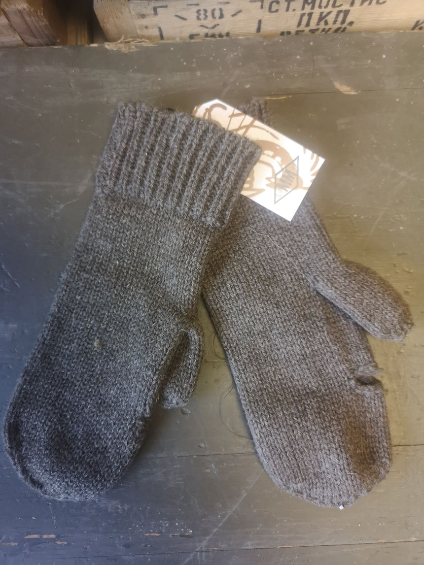 Swedish Army Wool Trigger Finger Mitts