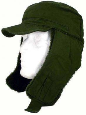 Swedish Army Winter M59 trapper hat