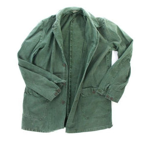 Swedish army vintage cotton work jacket