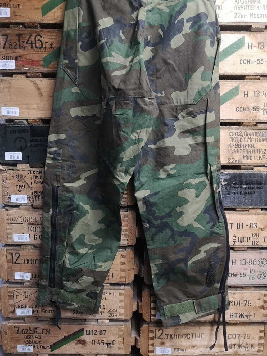 US Army Goretex Woodland Trousers