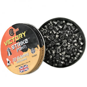 Victory Strike (pointed) .22 pellets