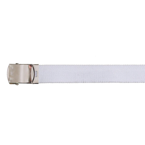 White Trouser Dress Belt