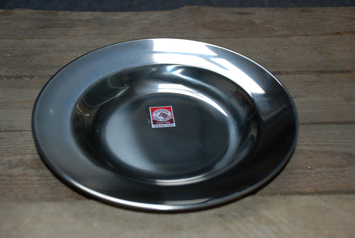Zebra Head Stainless Steel Deep Plate