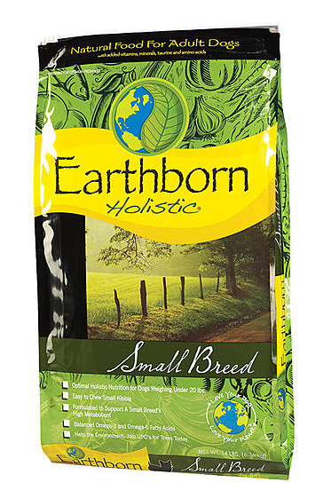Earthborn Holistic Grain Free Small Breed Dry Dog Food