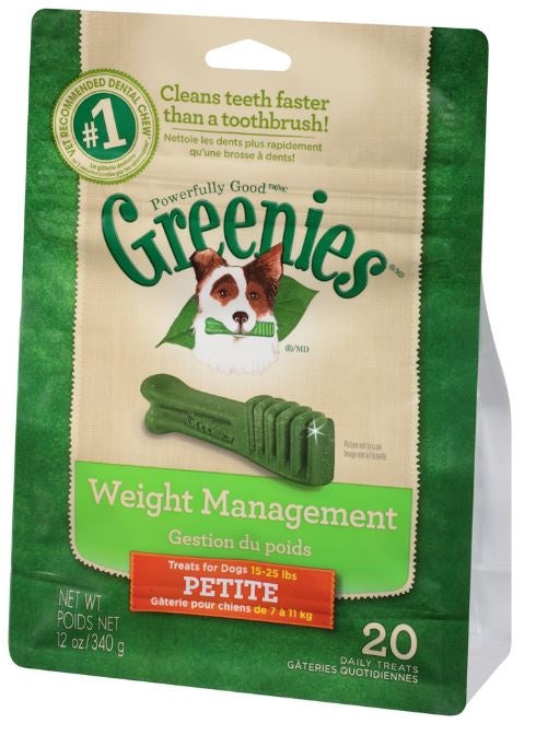 Greenies Petite Weight Management Dental Dog Chews