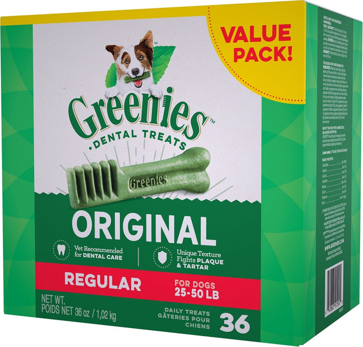 Greenies Regular Original Dental Dog Chews