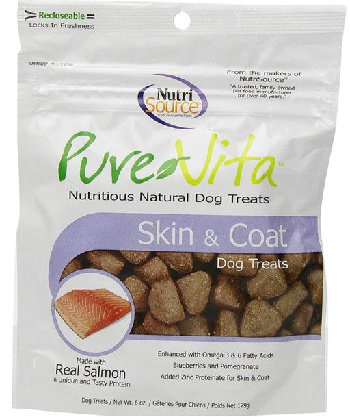 PureVita Skin And Coat Dog Treats