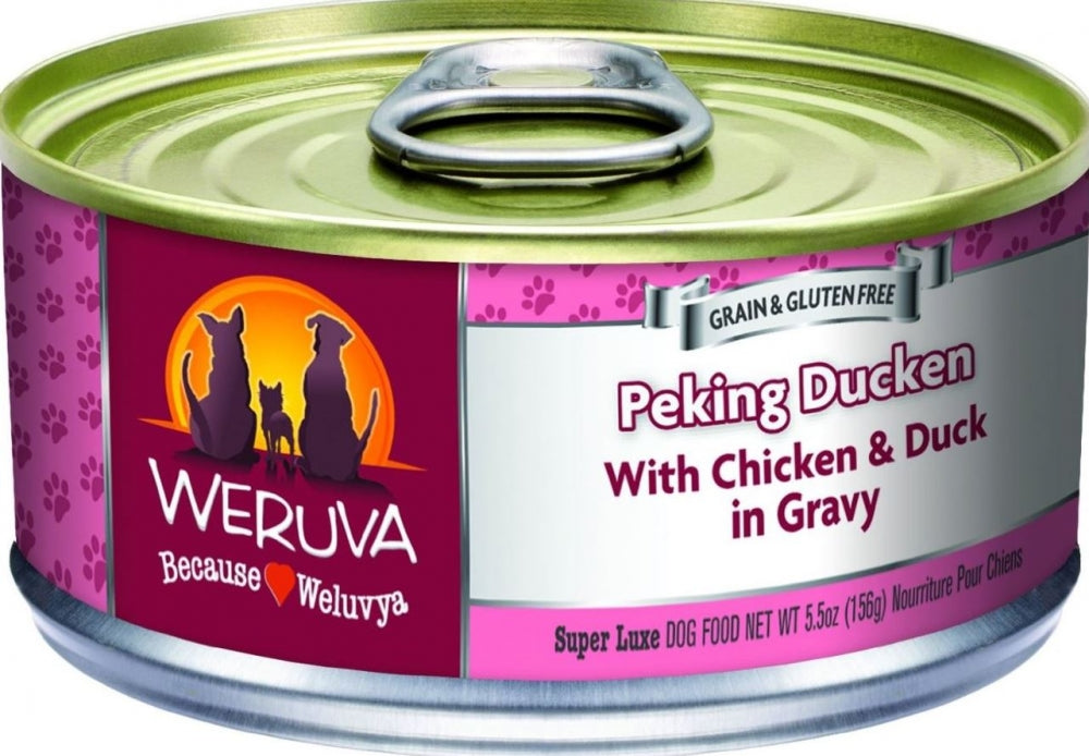 Weruva Peking Ducken Canned Dog Food