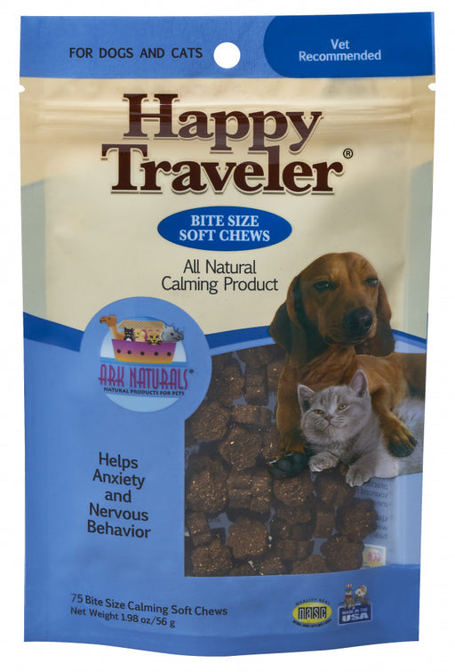 Ark Naturals Happy Traveler Soft Chews for Dogs & Cats