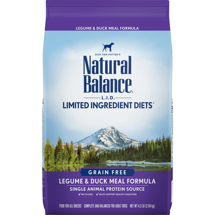 Natural Balance L.I.D. Limited Ingredient Diets Adult Legume and Duck Meal Dry Dog Food