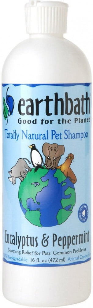 Earthbath Eucalyptus and Peppermint Shampoo for Dogs and Cats
