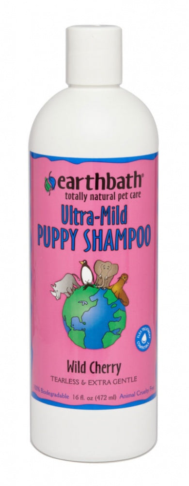 Earthbath Ultra-Mild Wild Cherry Puppy Shampoo