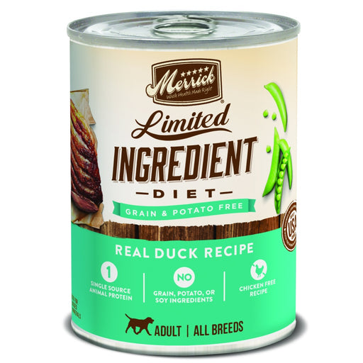 Merrick Limited Ingredient Diet Real Duck Recipe Canned Dog Food
