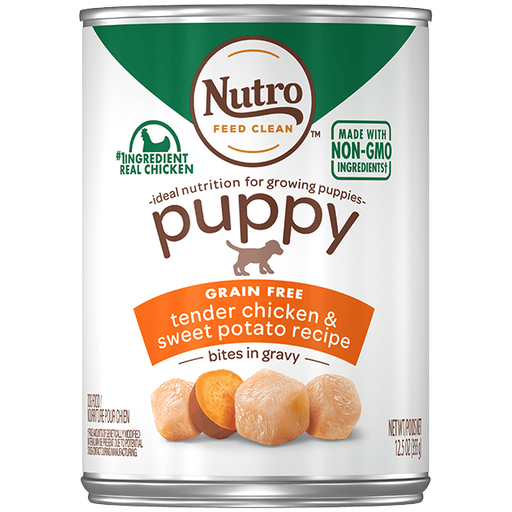 Nutro Bites in Gravy Tender Chicken & Sweet Potato Canned Puppy Food