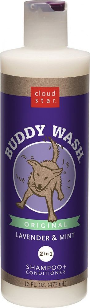 Cloud Star Buddy Wash Original Lavender & Mint Dog Shampoo & Conditioner