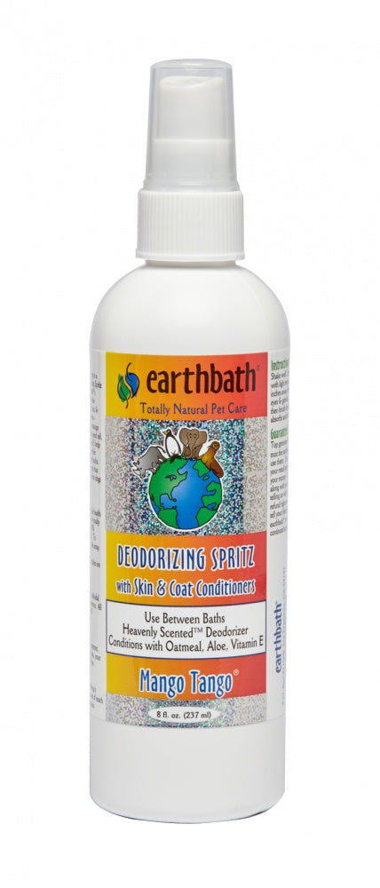 Earthbath Deodorizing Mango Tango Spritz for Dogs