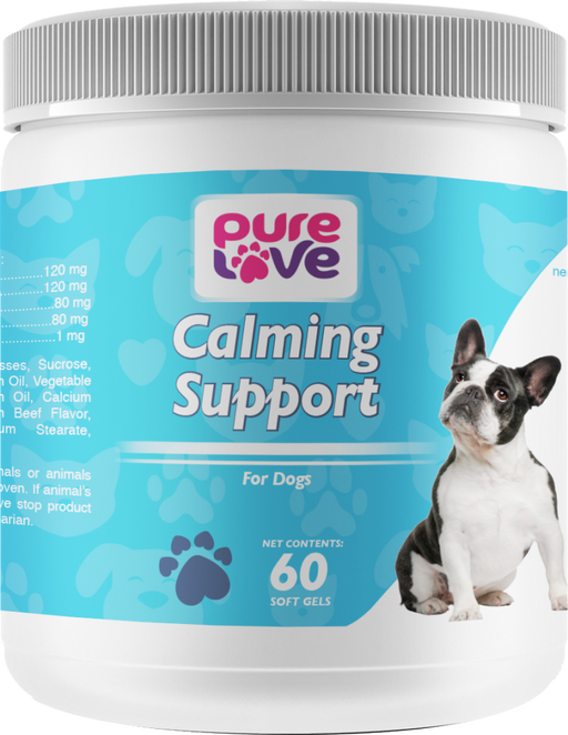 Pure Love EZ-Chew Calming Support Soft Chews for Dogs
