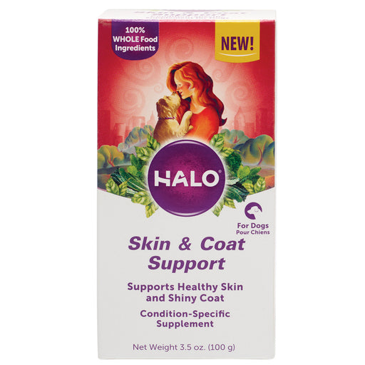 Halo Skin & Coat Support Supplement Powder for Dogs