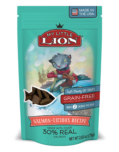 My Little Lion Grain Free Salmon-Licious Recipe Cat Treats