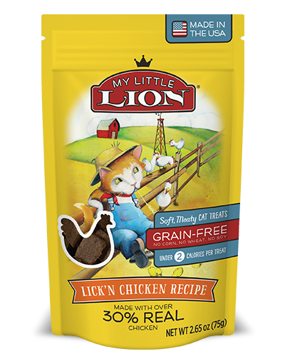 My Little Lion Grain Free Lick'n Chicken Recipe Cat Treats