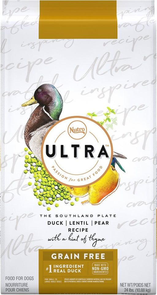 Nutro Ultra Adult Grain Free Duck, Lentil, & Pear Recipe Dry Dog Food