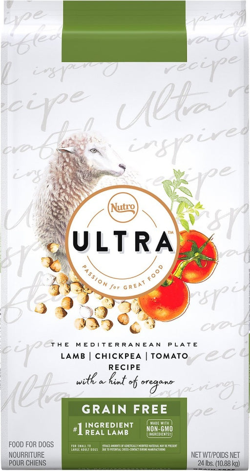 Nutro Ultra Adult Grain Lamb, Chickpea, & Tomato Recipe Dry Dog Food