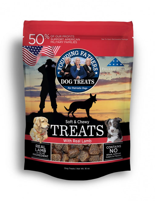 Founding Fathers Soft & Chewy Real Lamb Dog Treats