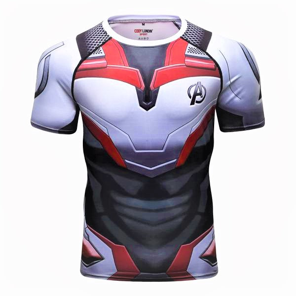 T-SHIRT COMPRESSION AVENGERS
