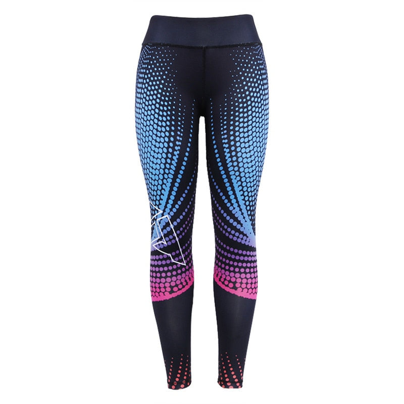LEGGINGS COMPRESSION PUSH UP WOMAN CROSS