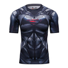 Charger l'image dans la galerie, T-SHIRT COMPRESSION BATMAN VS SUPERMAN