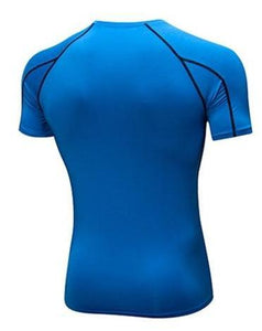T-SHIRT COMPRESSION GYM FIT COLOR