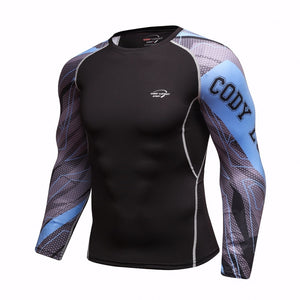 T-SHIRT COMPRESSION BODYBUILD