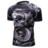 T-SHIRT COMPRESSION DRAGON