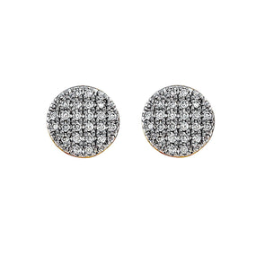 Blaze Lab Grown Diamond Stud Earrings - 14k Gold Over Sterling