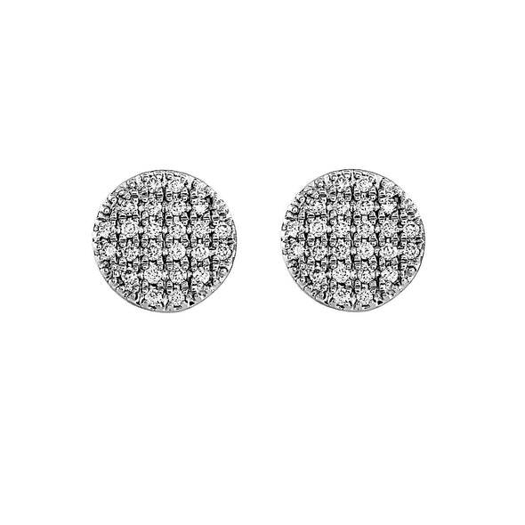 Blaze Lab Grown Diamond Stud Earrings - Sterling