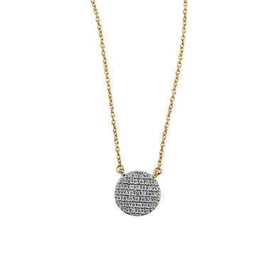 Blaze Lab Grown Diamond Pendant - 14k Gold Over Sterling