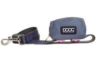 DOOG Walkie Tidy Pouch Grey & Pink