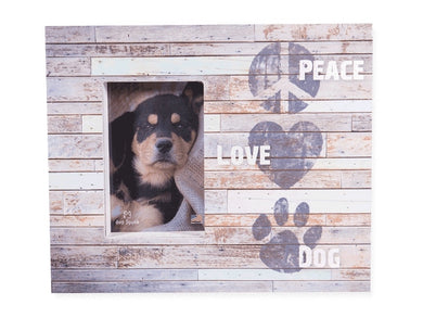 Dog Speak Wood Box Frame