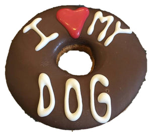 Bakery Valentine Dognut ❤️ My Dog Pink Or Carob - Cheddar Cheese