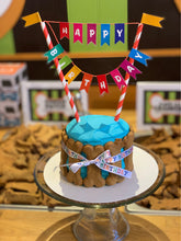 Load image into Gallery viewer, WOOF! WOOF! Birthday Cake With Bones