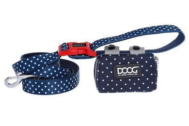 DOOG Walkie Tidy Pouch Print Navy Dot