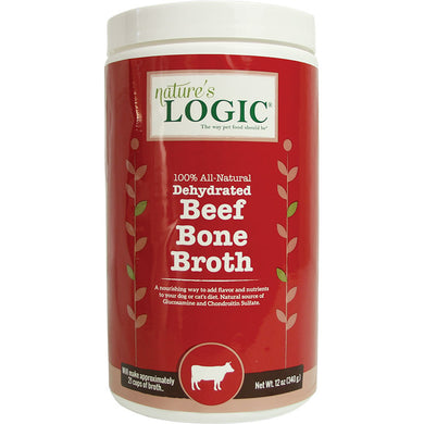 Nature's Logic Dehydrated Bone Broth Beef 12oz