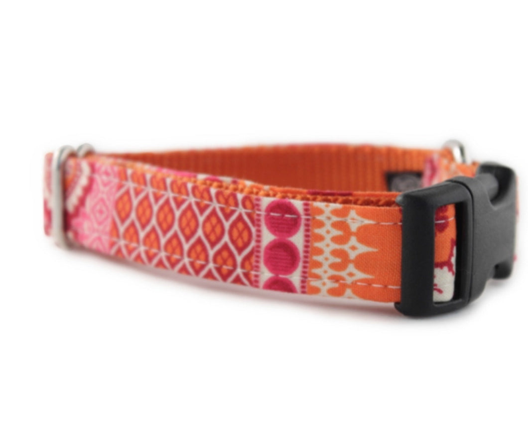 Sophisticated Pup Ishya in Pink / Orange