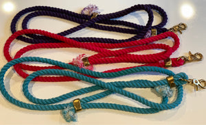 Hope Rope Solid Cotton Collection Mini (for dogs up to 25lbs)