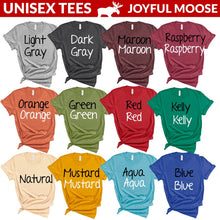 Load image into Gallery viewer, Joyful Moose Peace Love Dogs Tee Mustard