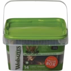 Whimzees Variety Pack Large 14ct pail