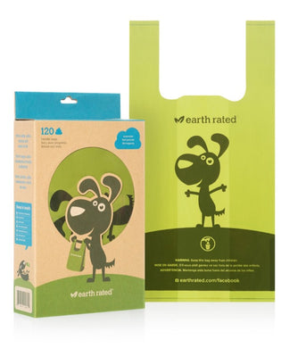 Earth Rated Poop Bags Handle Tie 120ct Unscented